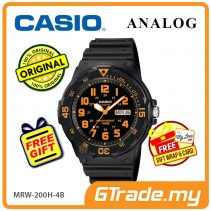 CASIO STANDARD MRW-200H-4BV Analog Mens Watch | Day Date Display
