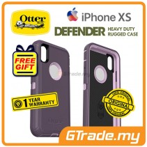 OTTERBOX Defender Belt Clip Holster Case   Apple iPhone Xs - Purple *Free Gift