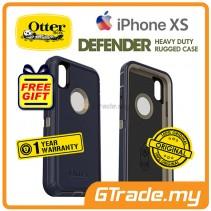 OTTERBOX Defender Belt Clip Holster Case   Apple iPhone Xs - Dark Lake *Free Gift