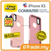OTTERBOX Commuter Dual Layer Tough Case   Apple iPhone Xs - Ballet Way *Free Gift