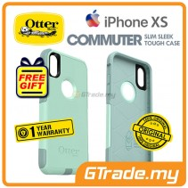 OTTERBOX Commuter Dual Layer Tough Case   Apple iPhone Xs - Ocean Way *Free Gift