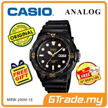 CASIO STANDARD MRW-200H-1EV Analog Mens Watch | Day Date Display