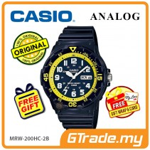CASIO STANDARD MRW-200HC-2BV Analog Mens Watch | Day Date Display