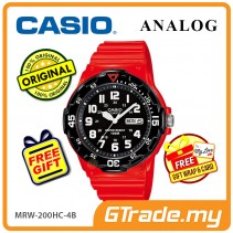 CASIO STANDARD MRW-200HC-4BV Analog Mens Watch | Day Date Display