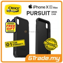 OTTERBOX Pursuit Thin Toughest Case | Apple iPhone XS Max - Black *Free Gift
