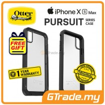 OTTERBOX Pursuit Thin Toughest Case | Apple iPhone XS Max - Black Clear *Free Gift