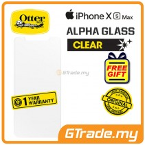 OTTERBOX Alpha Glass Screen Protector  | Apple iPhone XS Max *Free Gift