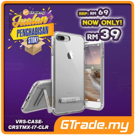 [CLEAR STOCK] VERUS VRS DESIGN Crystal Mixx Clear Case | Apple iPhone 8 7 - Clear