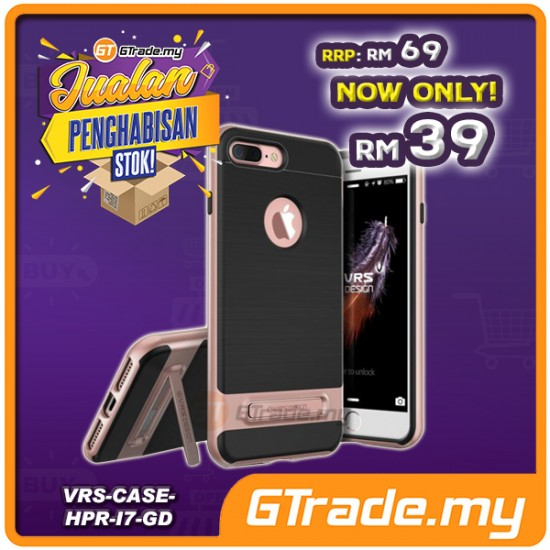 [CLEAR STOCK] VERUS VRS DESIGN High Pro Shield Case | Apple iPhone 8 7 - Gold