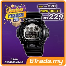 [CLEAR STOCK] CASIO G-SHOCK DW-6900NB-1 Digital Watch | Blue Green EL Backlight