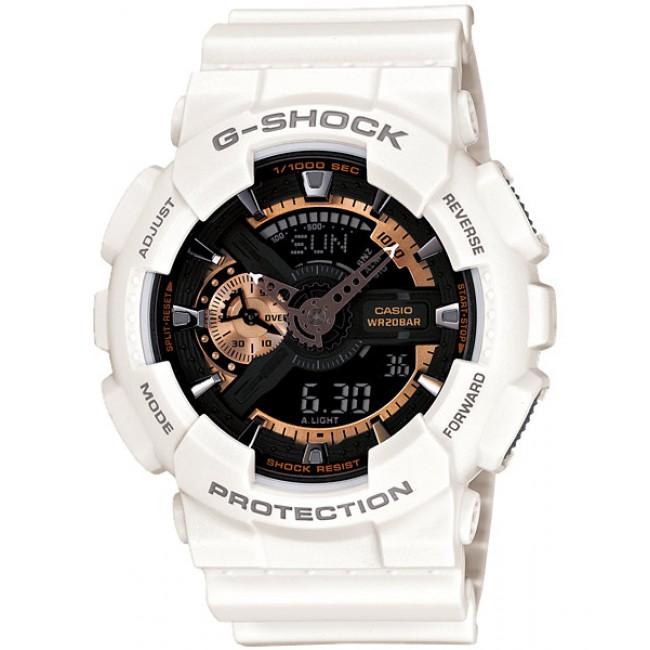 [CLEAR STOCK] CASIO G-SHOCK GA-110RG-7A Analog Digital Watch | 3D Rose Gold Design