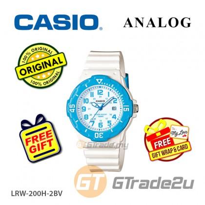 CASIO STANDARD LRW-200H-2BV Analog Ladies Watch | Date Display