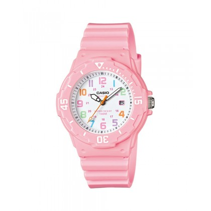 [READY STOCK] CASIO STANDARD LRW-200H-4B2V Analog Ladies Watch | Date Display