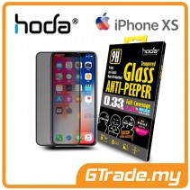 Hoda 2.5D 0.33mm Full Coverage Tempered Glass Apple iPhone XS X - Anti-Peeper