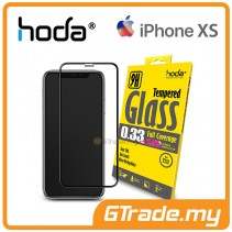 Hoda 2.5D 0.33mm Full Coverage Tempered Glass iPhone XS X - Clear