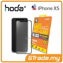 Hoda 2.5D 0.33mm Full Coverage Tempered Glass iPhone XS X  - Anti Glare