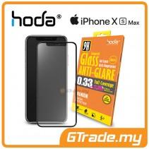 Hoda 2.5D 0.33mm Full Coverage Tempered Glass iPhone XS Max - Anti Glare