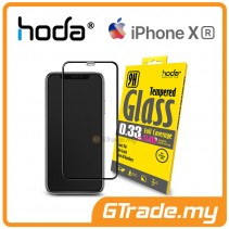 Hoda 2.5D 0.33mm Full Coverage Tempered Glass iPhone Xr - Clear
