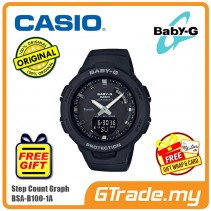 CASIO BABY-G BSA-B100-1A Analog Digital Watch | G-squad Phone Linking