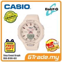 CASIO BABY-G BSA-B100-4A1 Analog Digital Watch | G-squad Phone Linking
