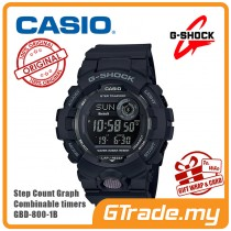 CASIO G-SHOCK GBD-800-1B Digital Watch | G-squad Phone Linking