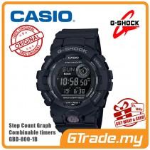 CASIO G-SHOCK GBD-800-1B Digital Watch | G-squad Phone Linking