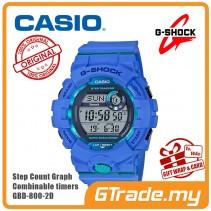 CASIO G-SHOCK GBD-800-2D Digital Watch | G-squad Phone Linking