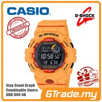 CASIO G-SHOCK GBD-800-4D Digital Watch | G-squad Phone Linking