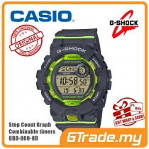 CASIO G-SHOCK GBD-800-8D Digital Watch | G-squad Phone Linking