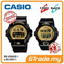 [G-ZONE] CASIO G-SHOCK BABY-G DW-6900CB-1 & BG-6901-1 Couple Watch