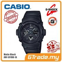 [G-ZONE] CASIO G-SHOCK AW-591BB-1A Digital Analog Watch | Matte Black