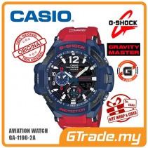 [G-ZONE] CASIO G-SHOCK GA-1100-2A Watch | GRAVITYMASTER Twin Sensor