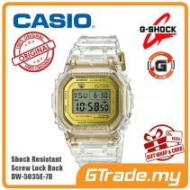 [G-ZONE] CASIO G-SHOCK DW-5035E-7D Digital Watch | Limited Glacier Gold