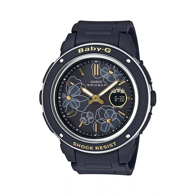[READY STOCK] CASIO BABY-G BGA-150FL-1A Analog Digital Watch | Floral Patterns