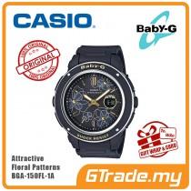 CASIO BABY-G BGA-150FL-1A Analog Digital Watch | Floral Patterns