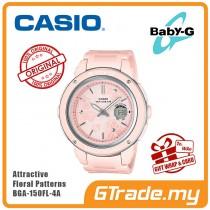 CASIO BABY-G BGA-150FL-4A Analog Digital Watch | Floral Patterns