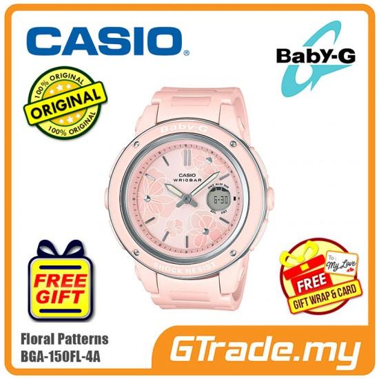 CASIO BABY-G BGA-150FL-4A Analog Digital Watch | Floral Patterns [PRE]