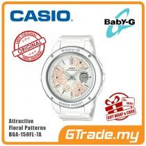CASIO BABY-G BGA-150FL-7A Analog Digital Watch | Floral Patterns