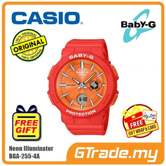 CASIO BABY-G BGA-255-4A Analog Digital Watch | Surface Metal Coating