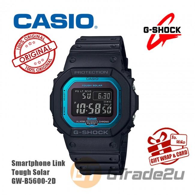 [READY STOCK] CASIO G-SHOCK GW-B5600-2D Digital Watch | Smartphone Link Tough Solar