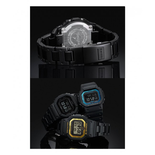 [READY STOCK] CASIO G-SHOCK GW-B5600BC-1B Digital Watch | Stainless Steel Resin Composite Band