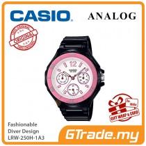 CASIO Women Ladies LRW-250H-1A3 Analog Watch |Fashionable Rotary bezel