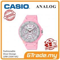 CASIO Women Ladies LRW-250H-4A2 Analog Watch |Fashionable Rotary bezel