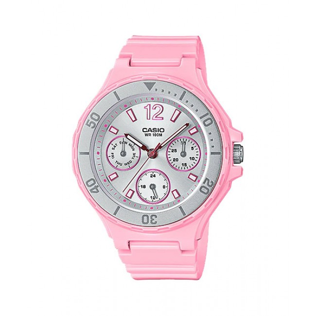 CASIO Women Ladies LRW-250H-4A3 Analog Watch |Fashionable Rotary bezel [PRE]