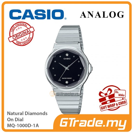 CASIO Women MQ-1000D-1A Analog Watch |Multi-Faceted Glass