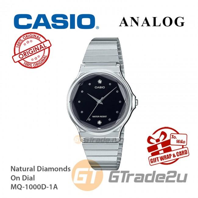 CASIO Women MQ-1000D-1A Analog Watch |Multi-Faceted Glass [PRE]