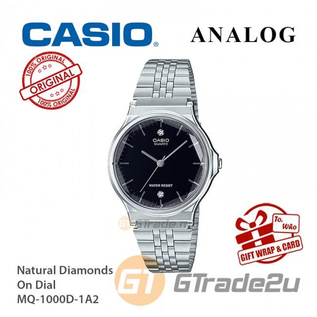 CASIO Women MQ-1000D-1A2 Analog Watch  Multi-Faceted Glass