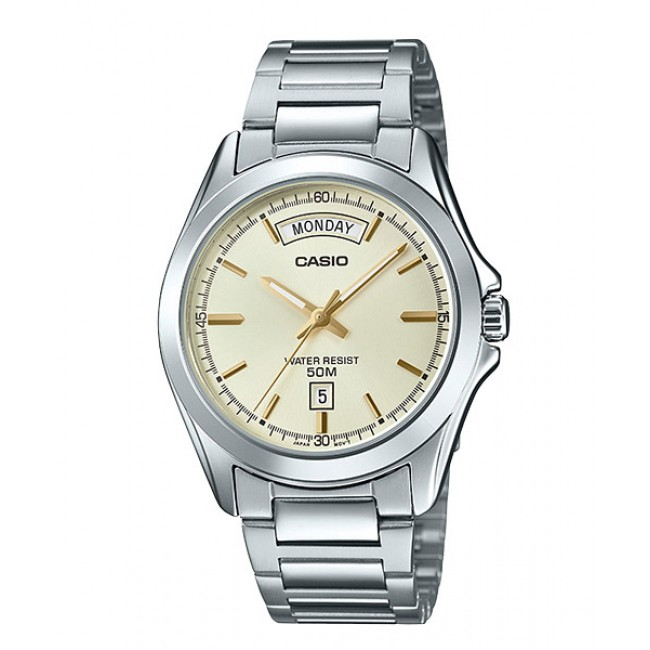 CASIO Men MTP-1370D-9A Analog Watch | Wide Day of the Week Indicator [PRE]