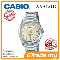 CASIO Men MTP-1370D-9A Analog Watch | Wide Day of the Week Indicator