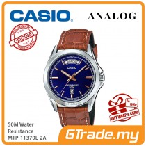 CASIO Men MTP-1370L-2A Analog Watch | Wide Day of the Week Indicator